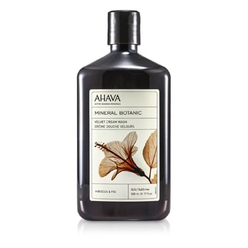 Ahava Mineral Botanic Velvet Cream Wash - Hibiscus & Fig (Very Dry Skin)