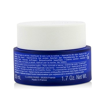 Clarins Multi-Active Night Youth Recovery Comfort Cream (Normal to Dry Skin)