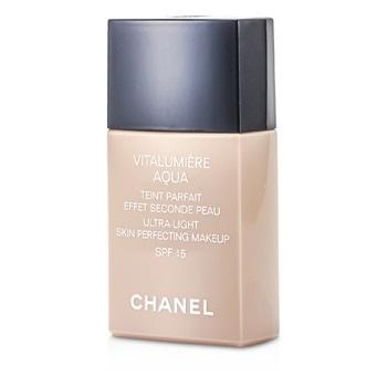 Chanel Vitalumiere Aqua Ultra Light Skin Perfecting Makeup SFP 15 - # 40 Beige