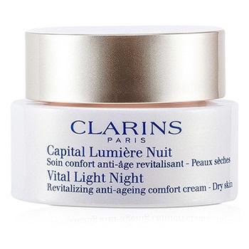 Clarins Vital Light Night Revitalizing Anti-Aging Comfort Cream