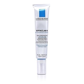 La Roche Posay - Effaclar K Daily Renovating Anti-Relapse Salicylic Acid Acne Treatment - 30ml/1oz 4 Pack - Estee Lauder New Dimension Shape + Fill Expert Serum  1.0 oz