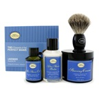 The Art Of Shaving The 4 Elements Of The Perfect Shave - Lavender (New Packaging) (Pre Shave Oil + Shave Crm + A/S Balm + Brush)