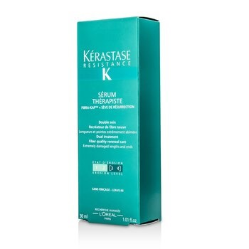 Kerastase Resistance Serum Therapiste Dual Treatment Fiber Quality Renewal Care (Extremely Damaged Lengths and Ends)