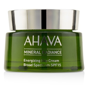 Ahava Mineral Radiance Energizing Day Cream SPF 15 (Box Slightly Damaged)