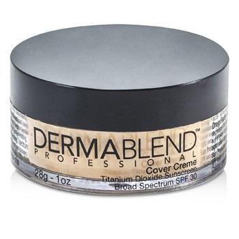 Dermablend Cover Creme Broad Spectrum SPF 30 (High Color Coverage) - Caramel Beige