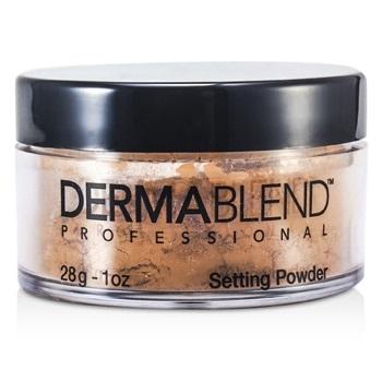 Dermablend Loose Setting Powder (Smudge Resistant, Long Wearability) - Warm Saffron