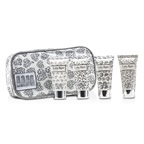 Lola Rose Energising Rock Crystal Travel Set: Shower Gel + Body Lotion + Hand & Nail Cream + Bubble Bath + Bag