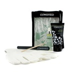 Cowshed Cow Slip Manicure Maintenance Kit: Hand Cream + Cuticle Oil + Emercy Board + Cuticle Stick + Gloves + Bag