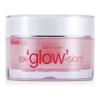 Bliss - Triple Oxygen Ex-glow-sion Vitabead-Infused Moisture Cream - 48g/1.7oz Satin Smooth SSMFS Professional Mini Facial Steam