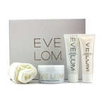 Eve Lom Luxury Collection: Cleanser 100ml + TLC Radiance Cream 50ml + Rescue Mask 50ml + Muslin Cloth