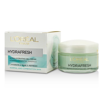 L'Oreal Triple Active Fresh Ultra-Hydrating Gel-Cream (For Normal & Combination Skin)