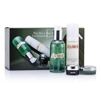 La Mer Essentials Set: Cleansing Gel 100ml + Moisturizing Lotion 50ml + Eye Concentrate 5ml + Lip Balm 9g + Bag