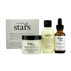 Philosophy All Stars Kit: Purity Made Simple Cleanser 60ml/2oz + When Hope Is Not Enough Serum 30ml/1oz + Hope In A Jar 60ml/2oz