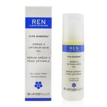 Ren Vita Mineral Omega 3 Optimum Skin Serum Oil (For Dry, Sensitive & Mature Skin)