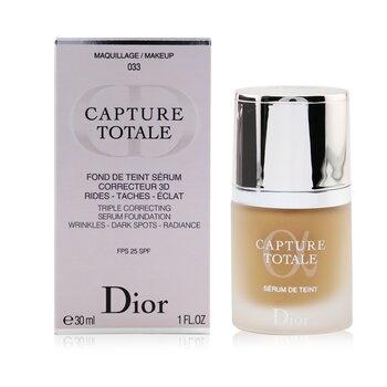Christian Dior Capture Totale Triple Correcting Serum Foundation SPF25 - # 033 Apricot Beige
