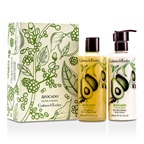Crabtree & Evelyn Avocado, Olive & Basil Perfect Pair: Bath & Shower Gel 250ml + Body Lotion 250ml