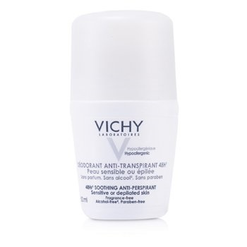 Vichy 48Hr Soothing Anti-Perspirant Roll-On (For Sensitive / Depilated Skin)