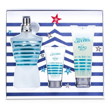 Jean Paul Gaultier Le Beau Male Coffret: EDT Spray 125ml/4.2oz + All Over Shower Gel 75ml/2.5oz + After Shave Balm 30ml/1oz