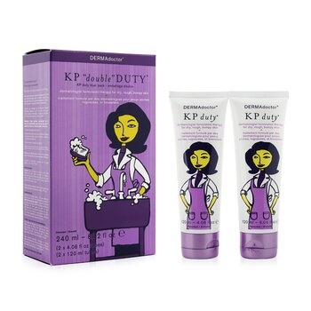 DERMAdoctor KP 'Double' Duty Duo Pack - Dermatologist Moisturizing Therapy (For Dry Skin)