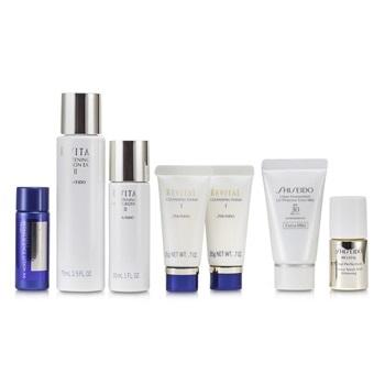 Shiseido Revital Set: Cleansing Foam I 20gx2pcs+Lotion EX II 75ml+Serum AAA 10ml+Moisturizer EX II 30ml+Lotion AA 20ml...
