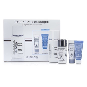 Sisley Ecological Compound Discovery Kit:Ecological Compound Day & Night 50ml, Global Perfect 10ml, Express Flower Gel 10ml...