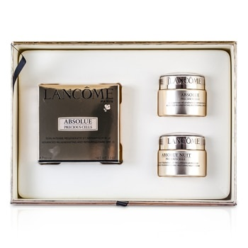 Lancome Absolue Precious Cells Coffret: Absolue SPF 15 50ml & 15ml + Night Care 15ml + Eye Concentrate 5ml + Oleo-Serum 5ml
