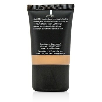 Dermablend Smooth Liquid Camo Foundation (Medium Coverage) - Copper