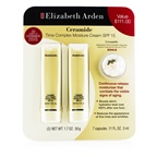 Elizabeth Arden Ceramide Set: 2x Time Complex Moisture Cream SPF 15 50g + Advanced Time Complex Capsules 3ml