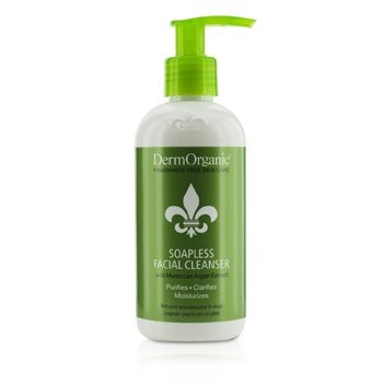 DermOrganic Soapless Facial Cleanser