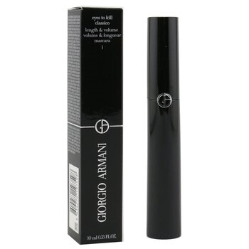 Giorgio Armani Eyes To Kill Classico Length & Volume Mascara - # 1 (Black)