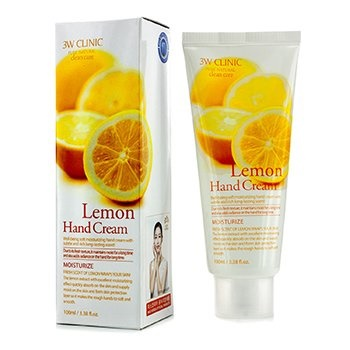 3W Clinic Hand Cream - Lemon