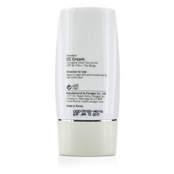 Dermaheal CC Cream SPF30 - Tan Beige