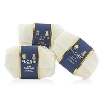 Floris Rose Geranium Luxury Soap
