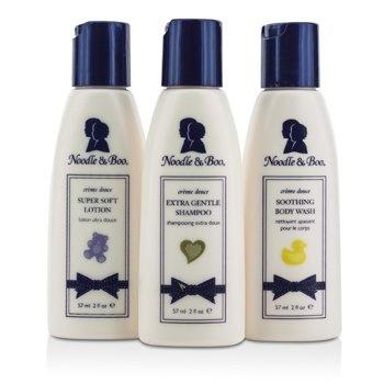 Noodle & Boo Essential Care Kit: Body Wash 59ml/2oz + Shampoo 59ml/2oz + Lotion 59ml/2oz