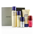 Shiseido Vital-Perfection Set: Cleansing Foam 50ml + Softener 75ml +  Emulsion 30ml + Ultimune Concentrate 10ml + Serum 10ml