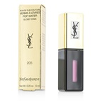 Yves Saint Laurent Rouge Pur Couture Vernis A Levres Pop Water Glossy Stain - #205 Pink Rain