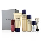 Shiseido Vital-Perfection Set: Cleansing Foam 50ml+Softener 75ml+Emulsion 30ml+Ultimune Concentrate 10ml+Serum 10ml+Primer 10ml