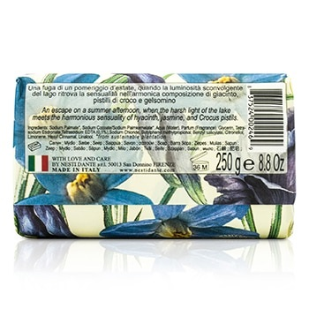 Nesti Dante Dolce Vivere Fine Natural Soap - Lago Di Como - Jasmine, Crocus Pistils & Blue Hyacinth
