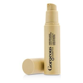 Gorgeous Cosmetics Sheer Brilliance Liquid Foundation - #2Y-SB