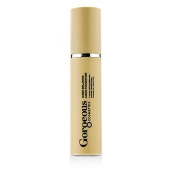Gorgeous Cosmetics Sheer Brilliance Liquid Foundation - #3Y-SB