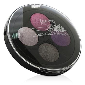 Lavera Illuminating Eyeshadow Quattro - # 02 Lavender Couture