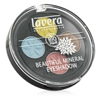 Lavera Beautiful Mineral Eyeshadow Quattro - # 05 Lunatic Summer Skies