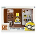 Air Val International Minions Coffret: EDT Spray 50ml/1.7oz + Magnets + Stickers