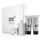 Mont Blanc Emblem Intense Coffret: EDT Spray 100ml/3.3oz + Shower Gel 100ml/3.3oz + After Shave Balm 100ml/3.3oz