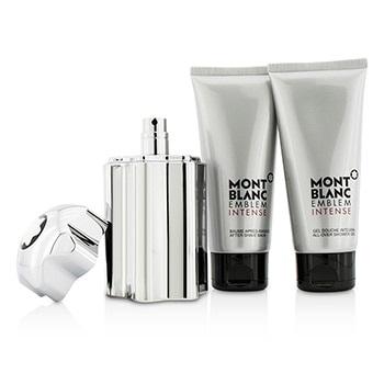 Mont Blanc Emblem Intense Coffret: EDT Spray 100ml/3.3oz + Shower Gel 100ml/3.3oz + After Shave Balm 100ml/3.3oz