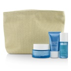 Clarins Moisture Must-Haves Set: HydraQuench Cream 50ml + Serum 15ml + Cream Mask 15ml + Bag