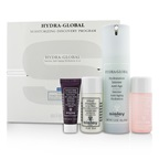 Sisley Hydra-Global Moisturizing Discovery Program: Hydration 40ml + Cleansing Milk 30ml + Toning Lotion 30ml + Cream Mask 11g