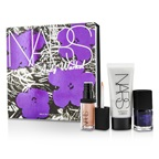 NARS Andy Warhol Walk On The Wild Side Set (1xMini Illuminator, 1xMini Nail Polish, 1xMini Lip Gloss)