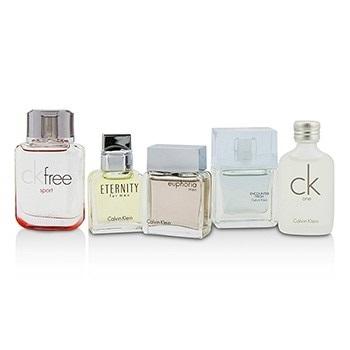 Calvin Klein Miniature Coffret : CK One + Eternity + Euphoria + CK Free Sport + Encounter Fresh
