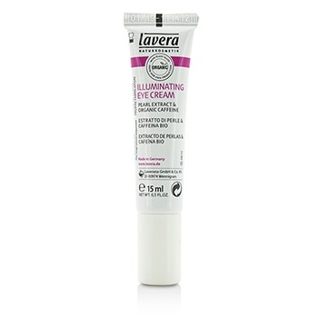 Lavera Organic Pearl Extract & Caffeine Illuminating Eye Cream